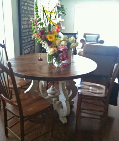 Old World Kitchen Table