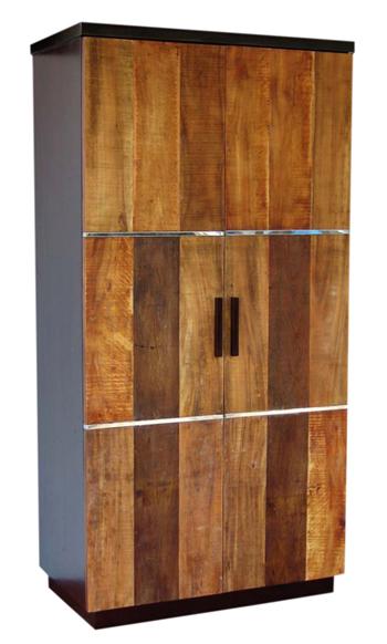 Modern Rustic Wardrobe Reclaimed Wood Armoire Chic