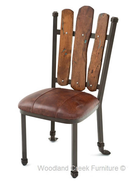 Rustic Dining Chair Mesquite  sc 1 st  Woodland Creek Furniture & Rustic Dining Chair Mesquite Lodge Dining Cabin