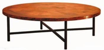 Copper Coffee Table Contemporary Copper Coffee Table - Square copper coffee table