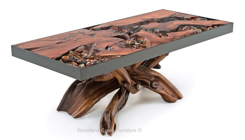 Living Room Timber Barnwood Furniture Rustic Furnishings Decor - Rustic-wood-furniture-for-living-room