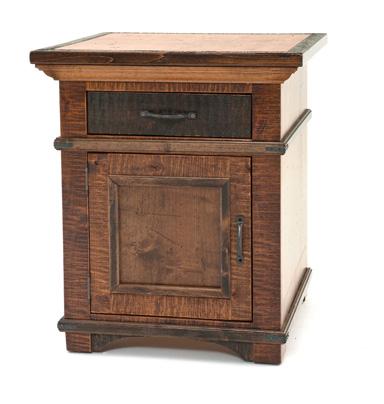 Etonnant Real Wood Nightstand. Elegant Wood Nightstand. Refined Rustic ...